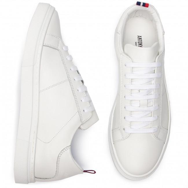 Uomo Scarpe Basse Sneakers Antony Morato Mmfw01127 le300001 White 1000