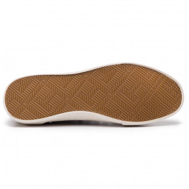 Uomo Scarpe Basse Da Ginnastica Sportive Tommy Hilfiger - Core Corporate Seasonal Sneaker Fm0fm02168 Cobblestone 068