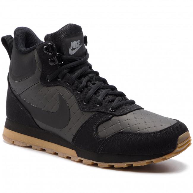 Uomo Scarpe Basse Sneakers Nike - Md Runner 2 Mid Prem 844864 006 Black black gum Light Brown