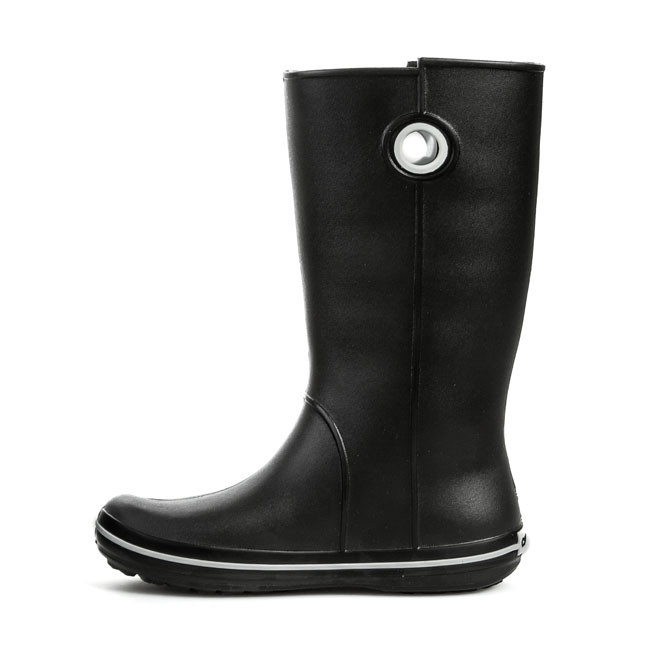 Accessori Tessili Wellington Crocs - Crocband Jaunt Womens 10970 Black