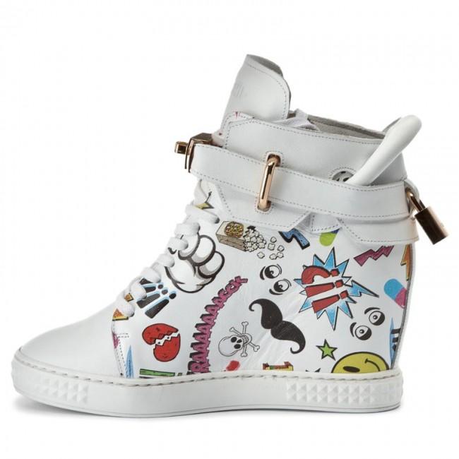 Bianco Multicolore Multicolore Multicolore Bianco Carinii Bianco Sneakers Carinii Sneakers
