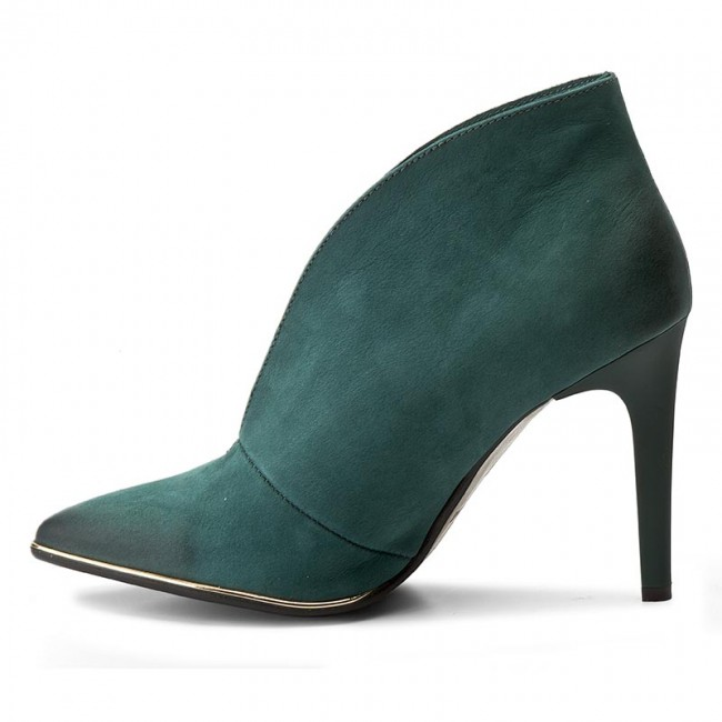 Verde Scarpe Stiletto Carinii