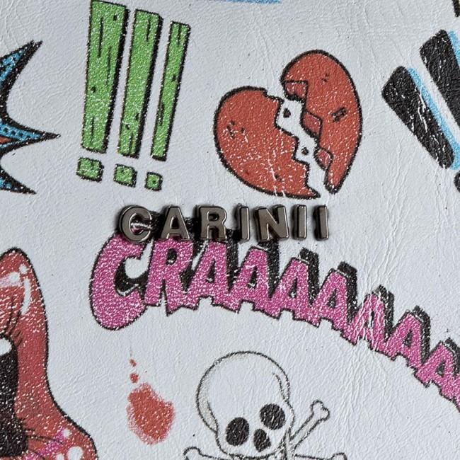 CARINII CARINII Borsa Bianco Multicolore Borsa Multicolore Bianco Borsa Bianco CARINII Multicolore Borsa 5q7pnAnax