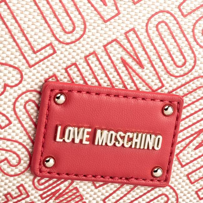 MOSCHINO Beige Rosso LOVE Borsa LOVE Borsa Beige MOSCHINO Rosso Borsa w05qnIa