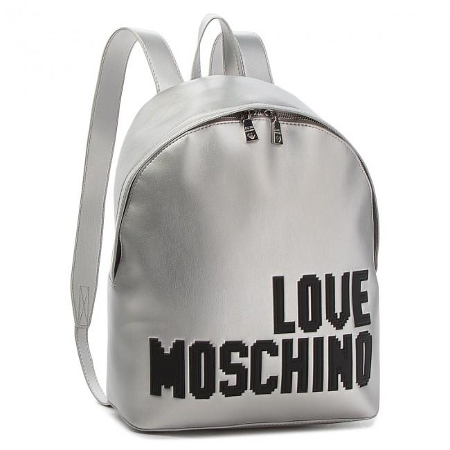Zaino LOVE LOVE MOSCHINO LOVE Argento Zaino Argento MOSCHINO LOVE Argento Zaino Zaino MOSCHINO R0qAwA