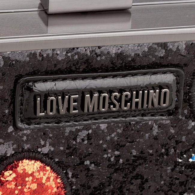 MOSCHINO Borsa LOVE MOSCHINO Argento Nero Borsa Nero MOSCHINO Argento Nero LOVE Borsa Argento LOVE wRnpHH