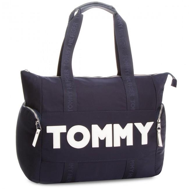 TOMMY HILFIGER Blu Borsa Borsa scuro TOMMY 1tRwFRxvqE
