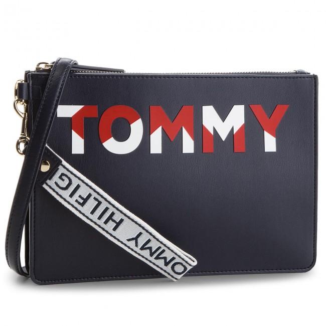 TOMMY HILFIGER HILFIGER Blu Borsa Borsa TOMMY scuro 5r5vqPI6