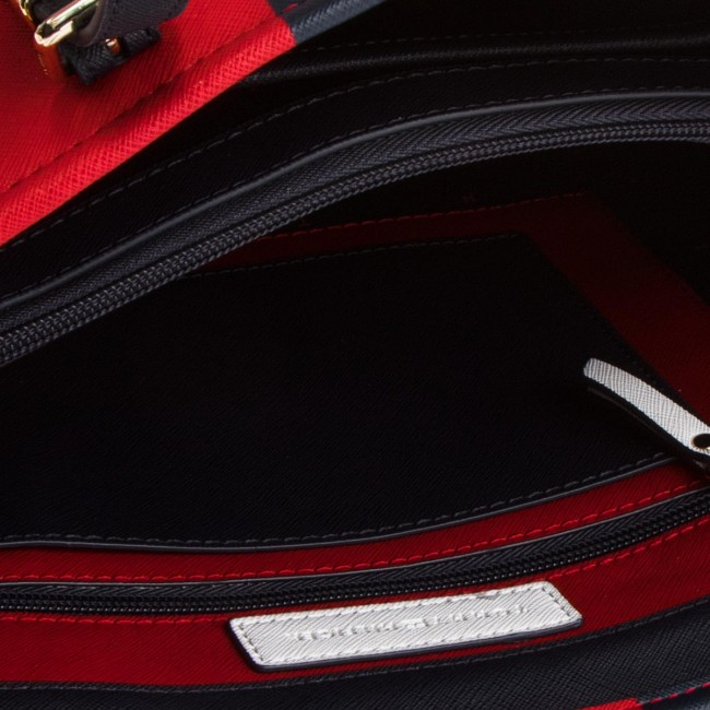 Multicolore TOMMY TOMMY HILFIGER TOMMY Rosso HILFIGER Rosso HILFIGER Borsa Borsa Borsa Multicolore A5ZqSwH