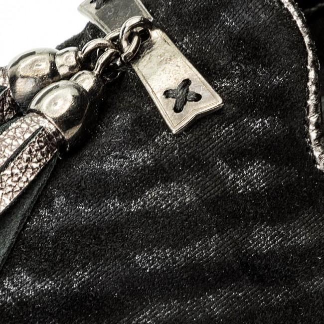 Donna Scarpe Basse Loafers The Flexx - Chantal C122 25 Gun Metal