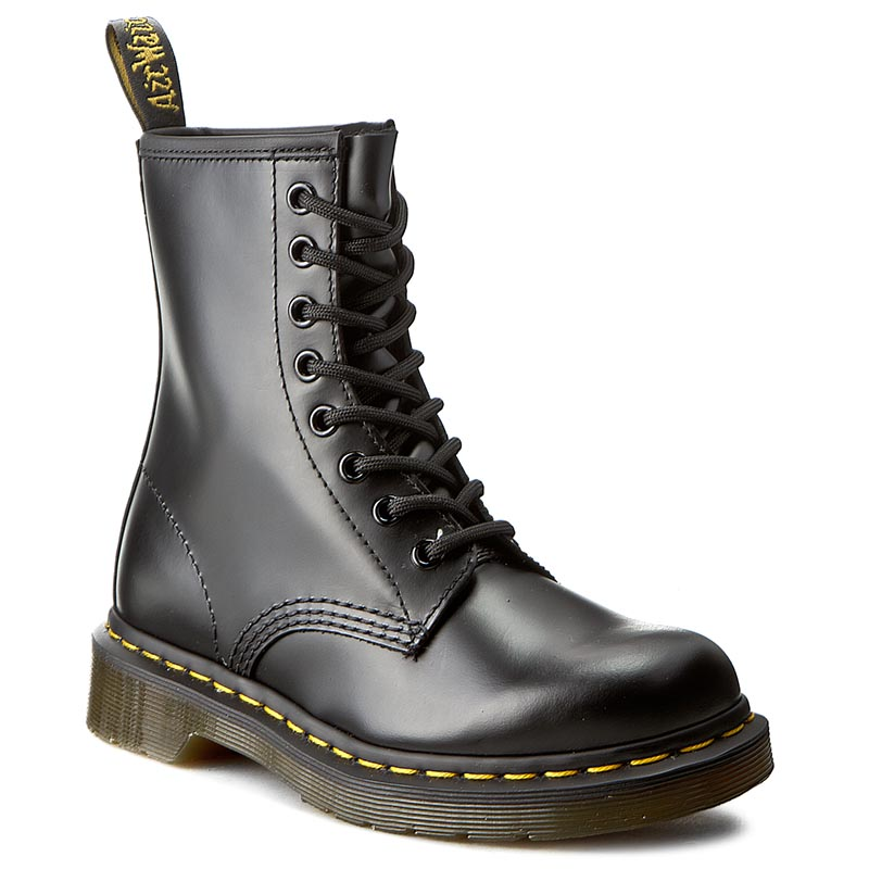 Image of Anfibi DR. MARTENS - 1460 Smooth 10072004 Black