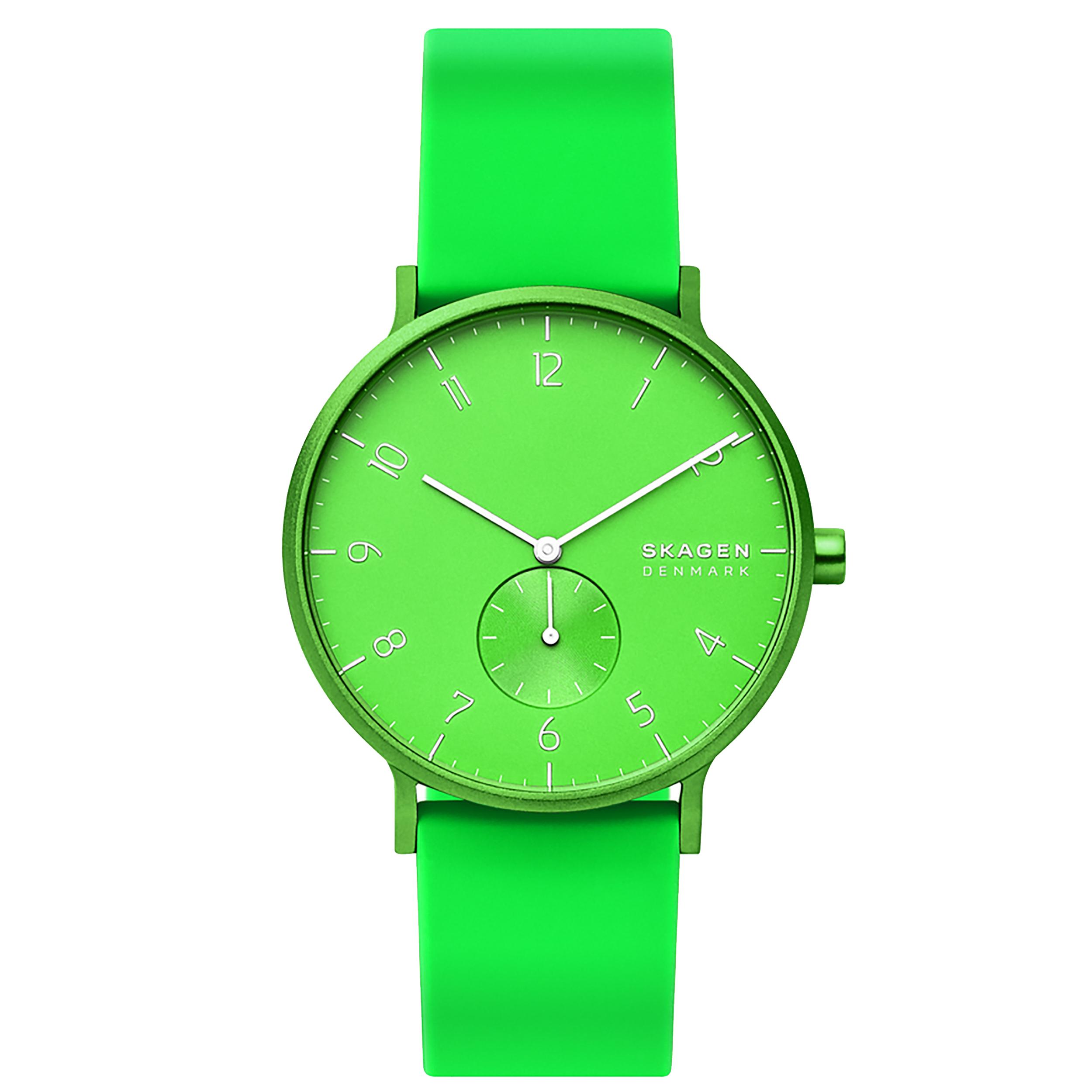 Image of Orologio SKAGEN - Aaren Kulor Neon SKW6556 Green/Green